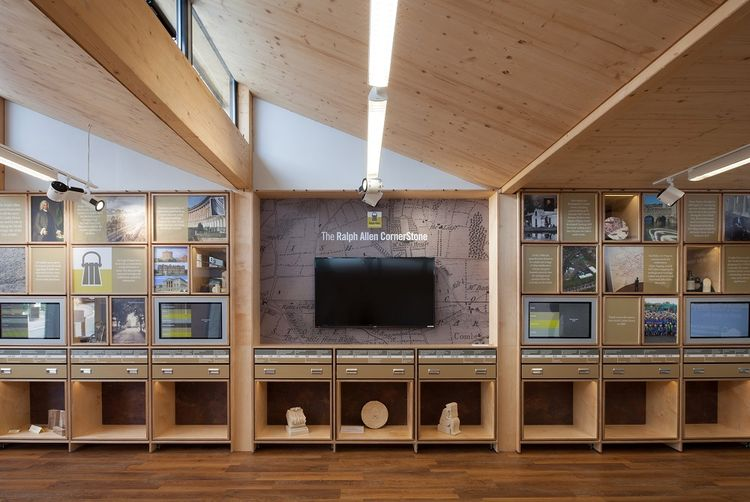 Ralph Allen Yard exhibition space in mining center