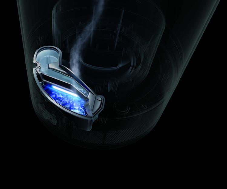 Black Dyson Hygienic Mist Humidifier.