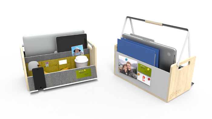 Tech toolbox for moving personal belongings around the office