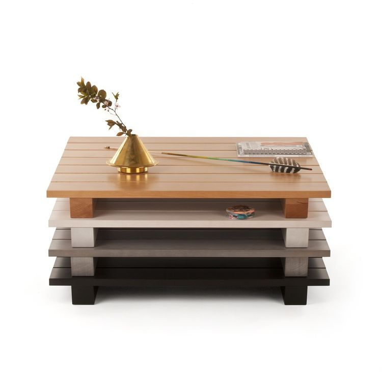 Range Life II Pallet Coffee Table by Jonah Takagi for MatterMade