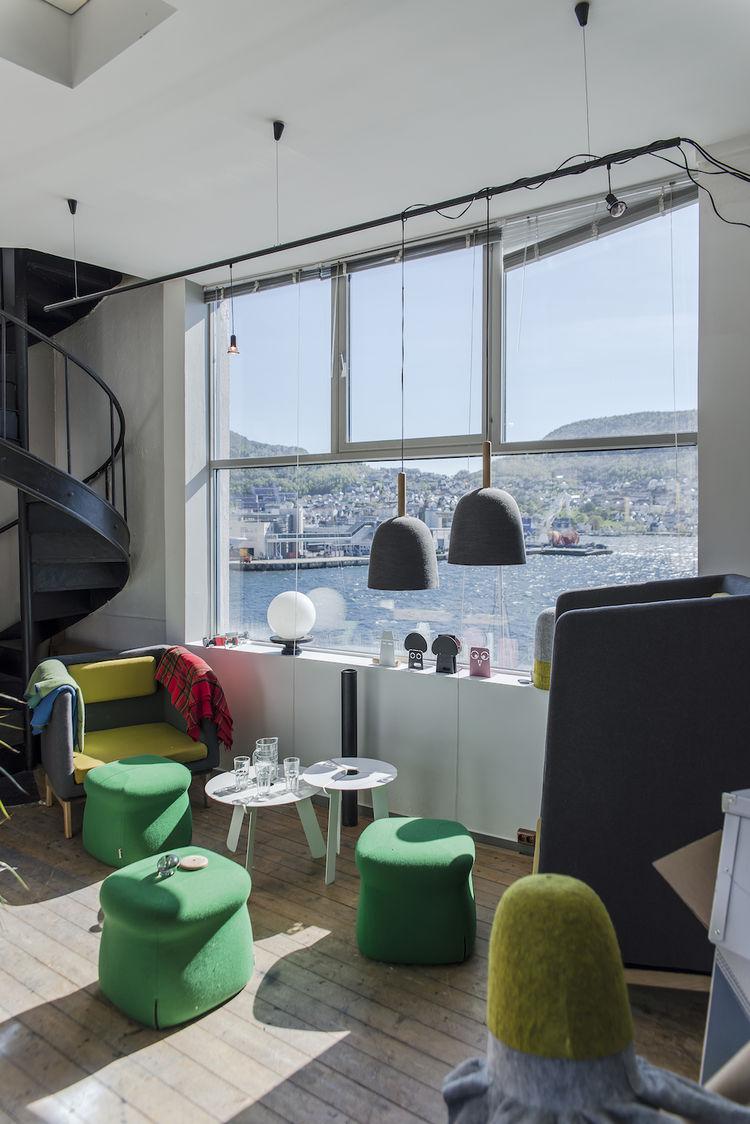 Design duo Morten & Jonas' studio in Bergen, Norway