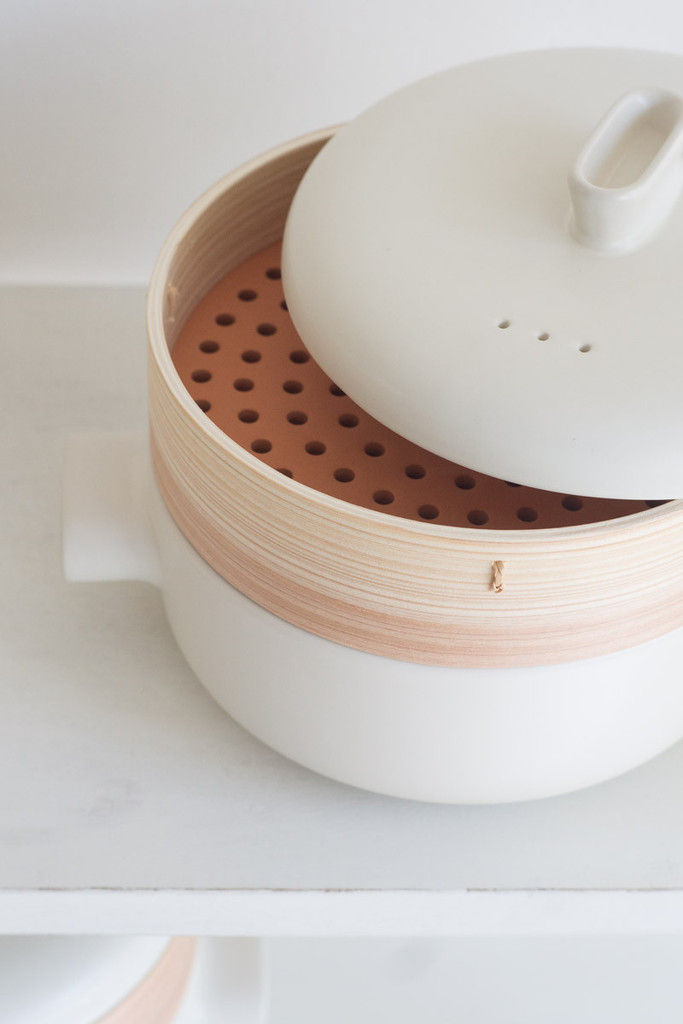 modern bamboo steamer