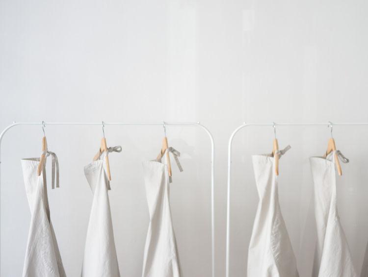 white aprons at Quitokeeto