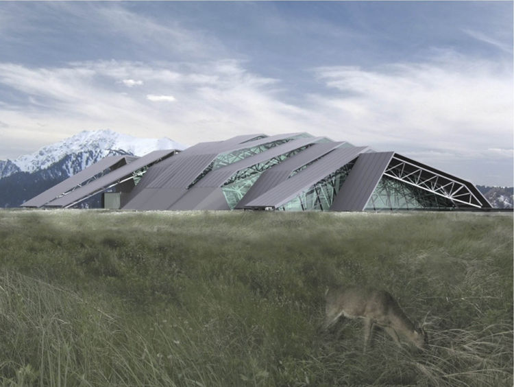 Medeu Sports Center, Kazakhstan, by Audrey Matlock Architect