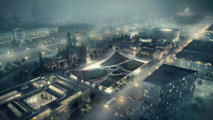 Bjarke Ingels Group renovation plan for Smithsonian south campus