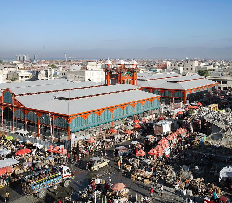 Revitalized Iron Market in Port-au-Prince, Haiti