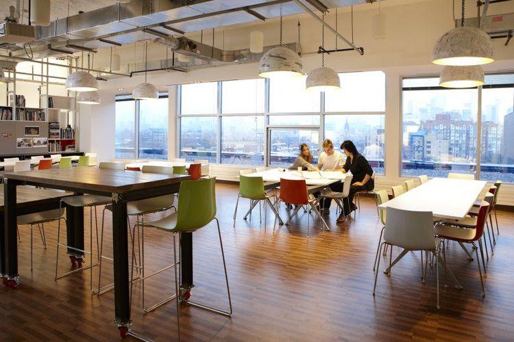 Quadrangle Architects studio in Toronto