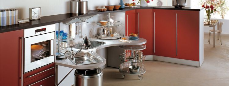 Snaidero Skylab accessible kitchen