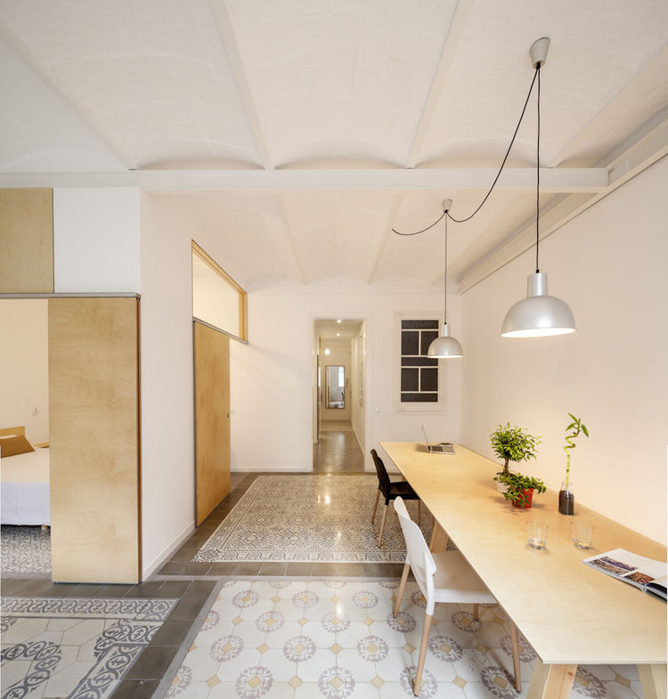 Adrian Elizalde's Apartment Renovation in Barcelona