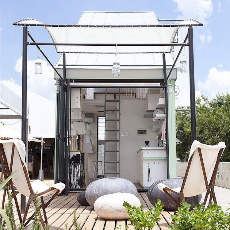POD-INDAWO prefab modular housing in Johannesburg, South Africa
