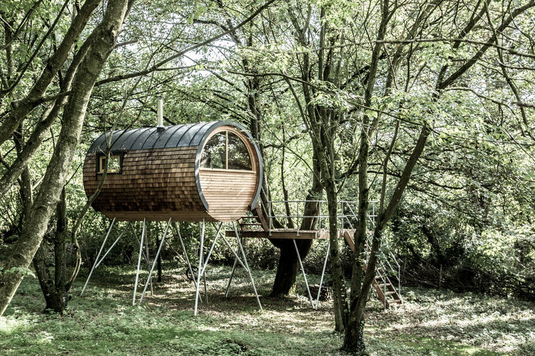 The Tube Treehouse by Bower House Construction
