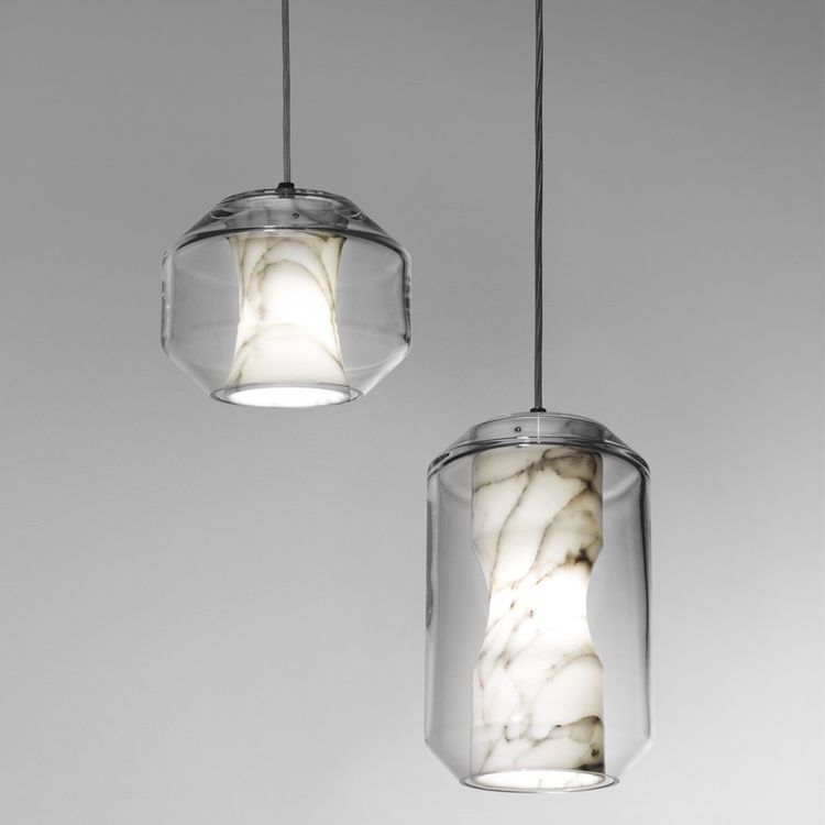 Lee Broom Nouveau Rebel marble Chamber lights