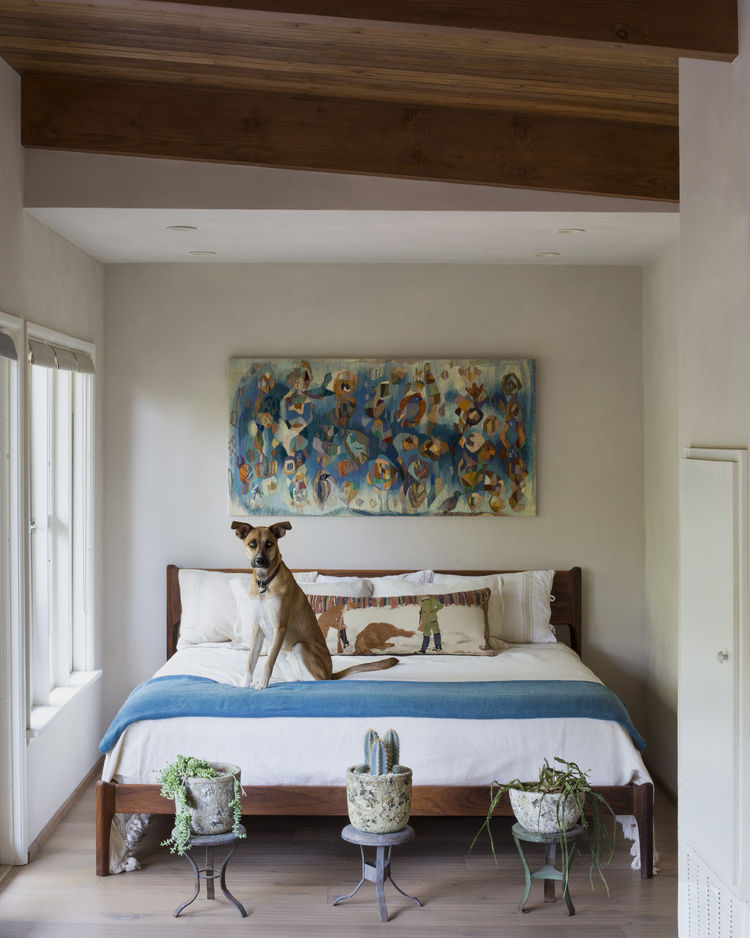 Beachwood Canyon bedroom renovation