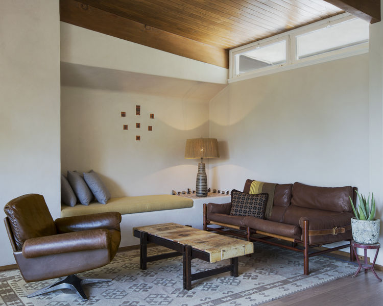 Beachwood Canyon living room renovation