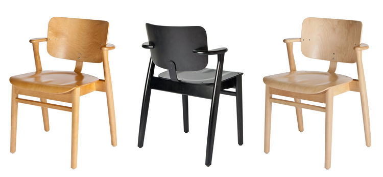 Ilmari Tapiovaara Domus student chair in wood