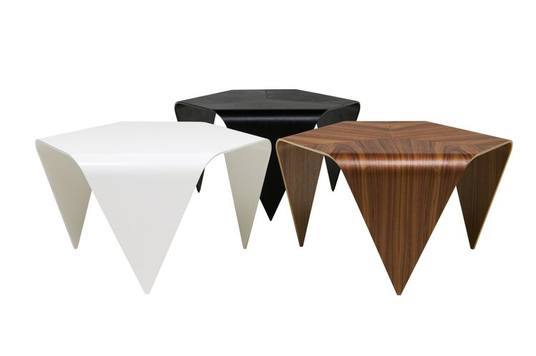 Ilmari Tapiovaara Trienna tables in birch plywood for Artek