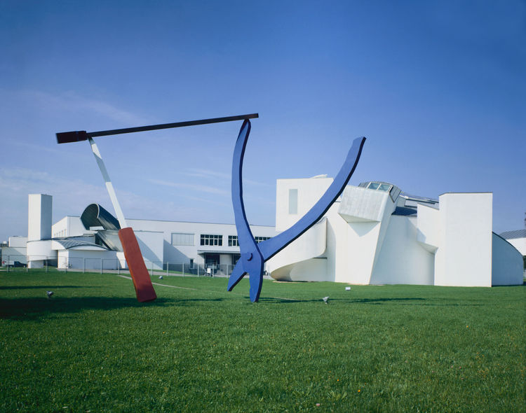 Balancing Tools by Claes Oldenburg & Coosje van Bruggen