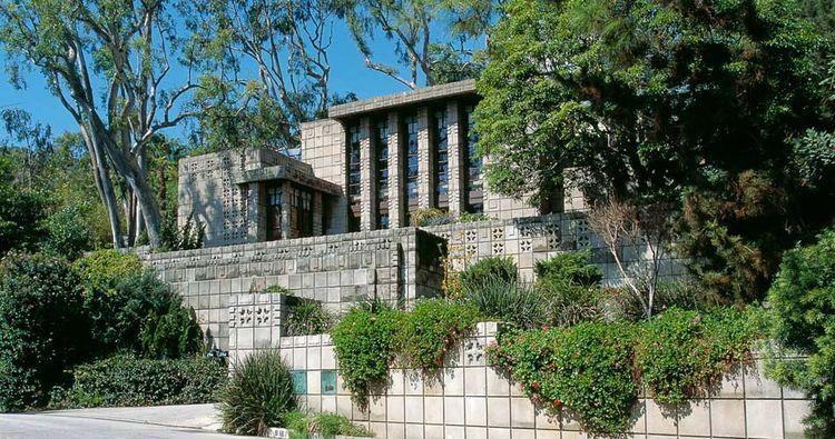 Frank Lloyd Wright Storer House Los Angeles