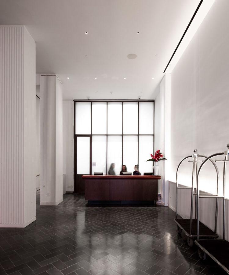 Annabelle Selldorf interior renovation Martha Washington Hotel in New York City NoMad District