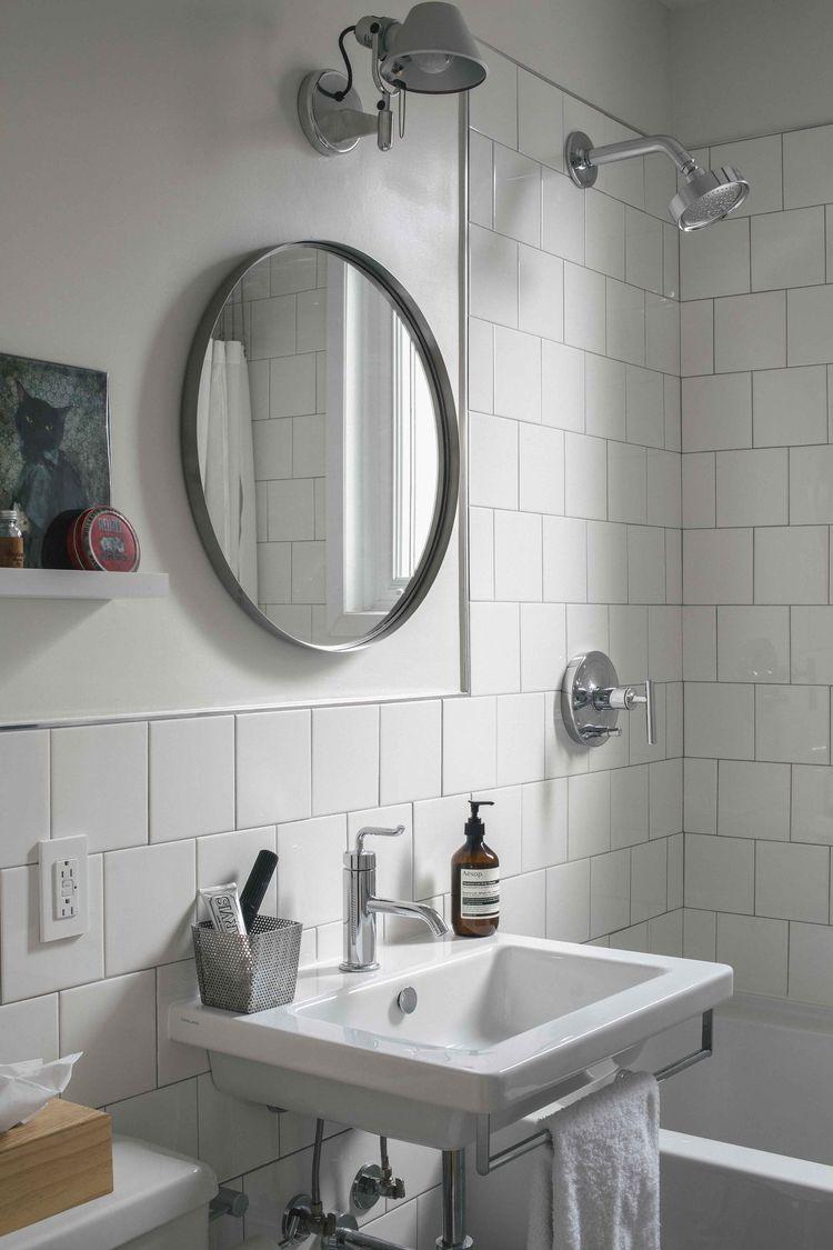 Inexpensive Montreal bathroom