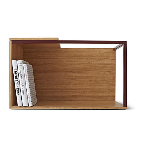 Ikea PS 2014 storage module with red steel frame