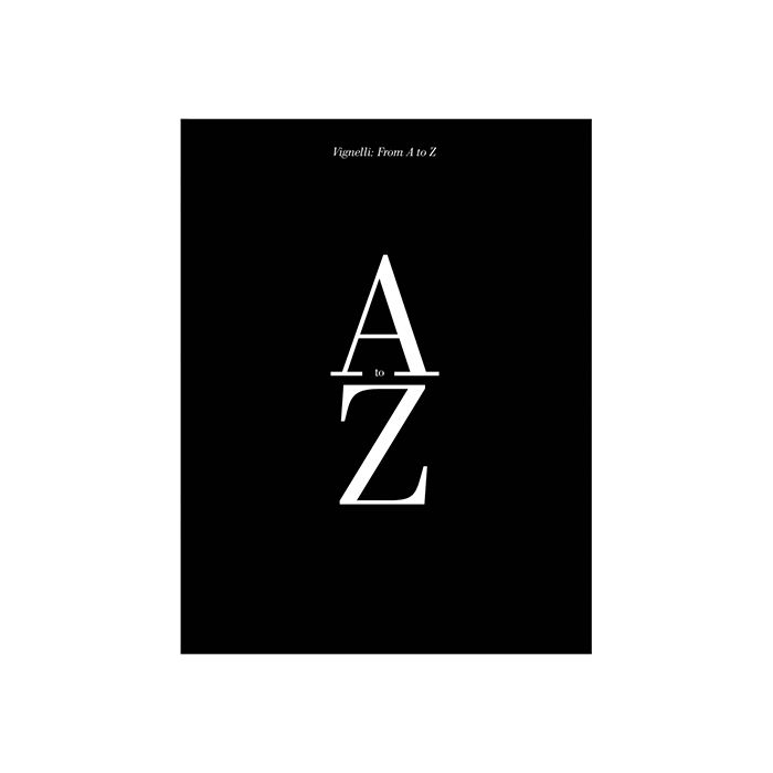 Vignelli from A to Z by Massimo Vignelli