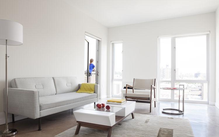 The Stack modular apartment building in Manhattan