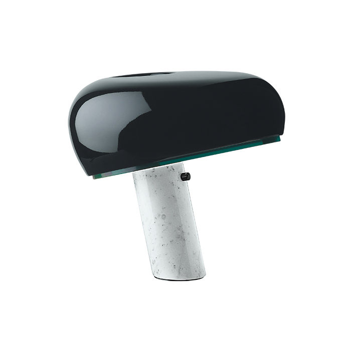 Snoopy table lamp by Achille and Pier Giacomo Castiglioni for Flos