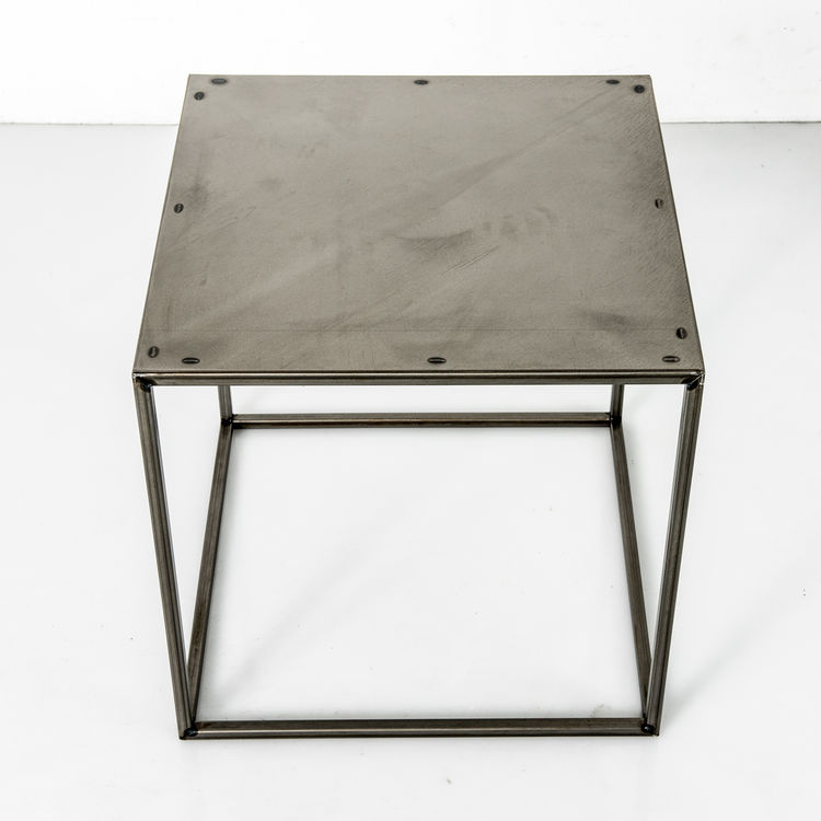 Patrick Cain steel table furniture