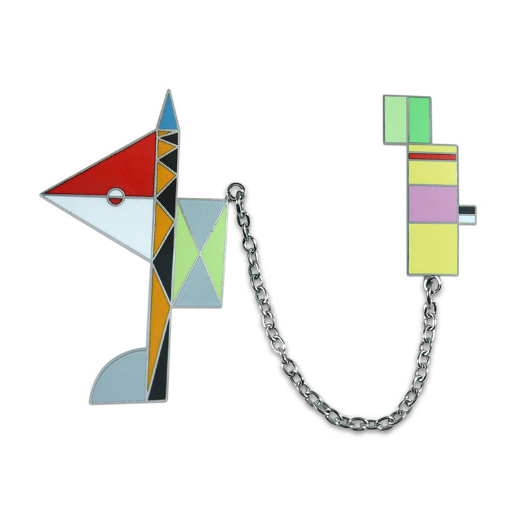 Peter Shire Skyhook brooch for Acme Studio