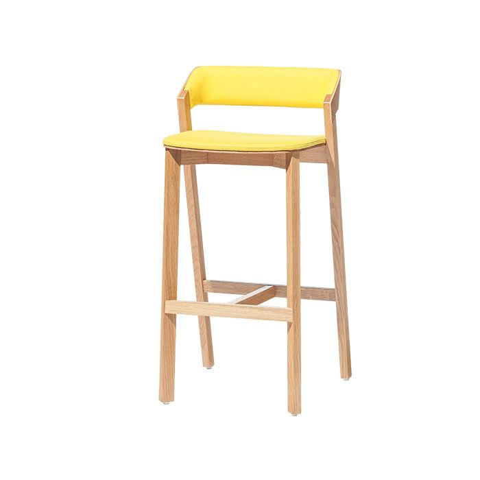 Merano bar stool by Alex Gufler for Ton