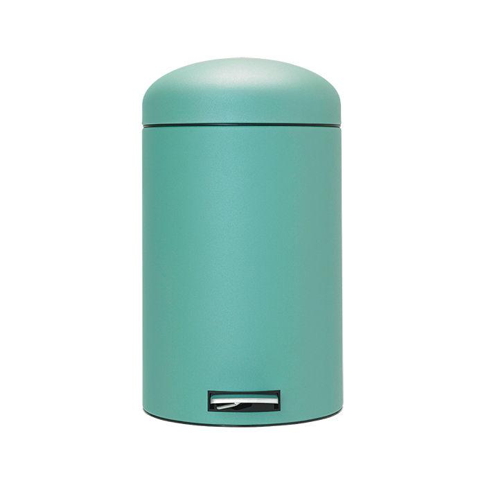 Retro Bin 20-liter trash can in Mineral Mint by Brabantia