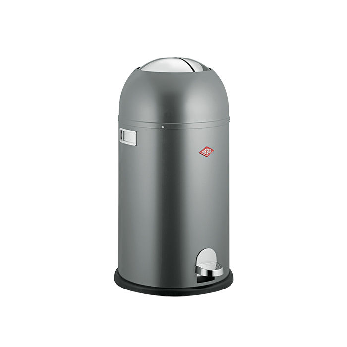 Kickmaster trash can by Wesco