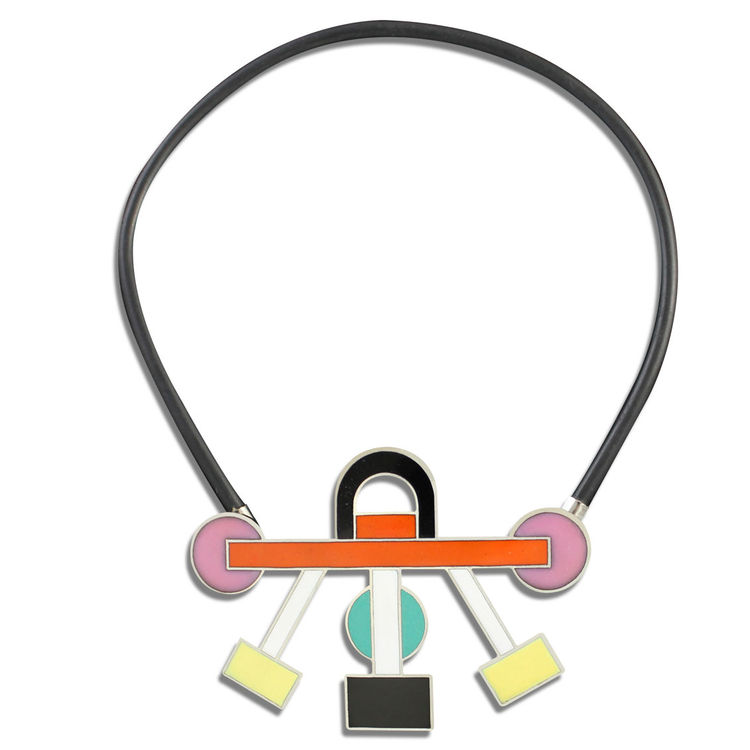 Ettore Sottsass Euphoria necklace for Acme Studio