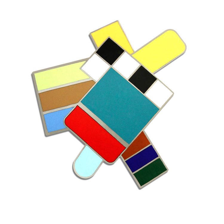 Loretto brooch by Gerard Taylor for Acme Studio