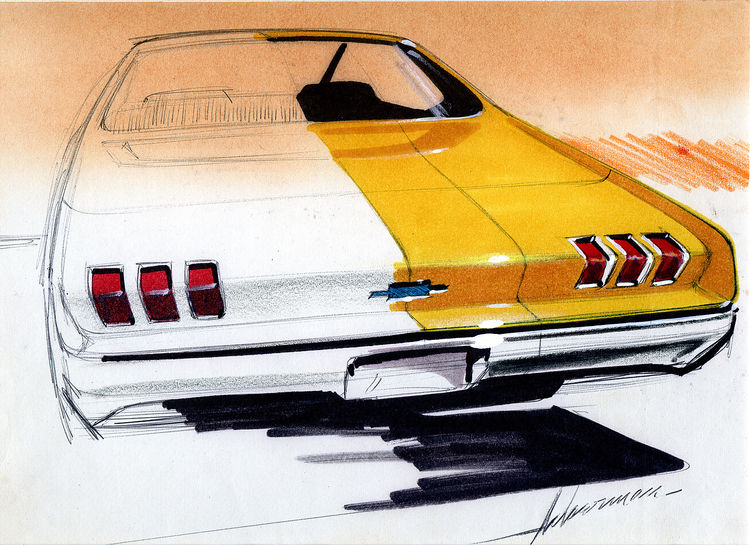 Christopher Mount automotive design drawings