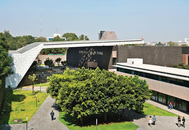 Cineteca Nacional in Mexico City by Rojkind Arquitectos