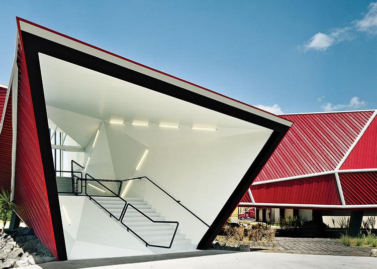 Nestle chocolate museum in Toluca, Mexico by Rojkind Arquitectos