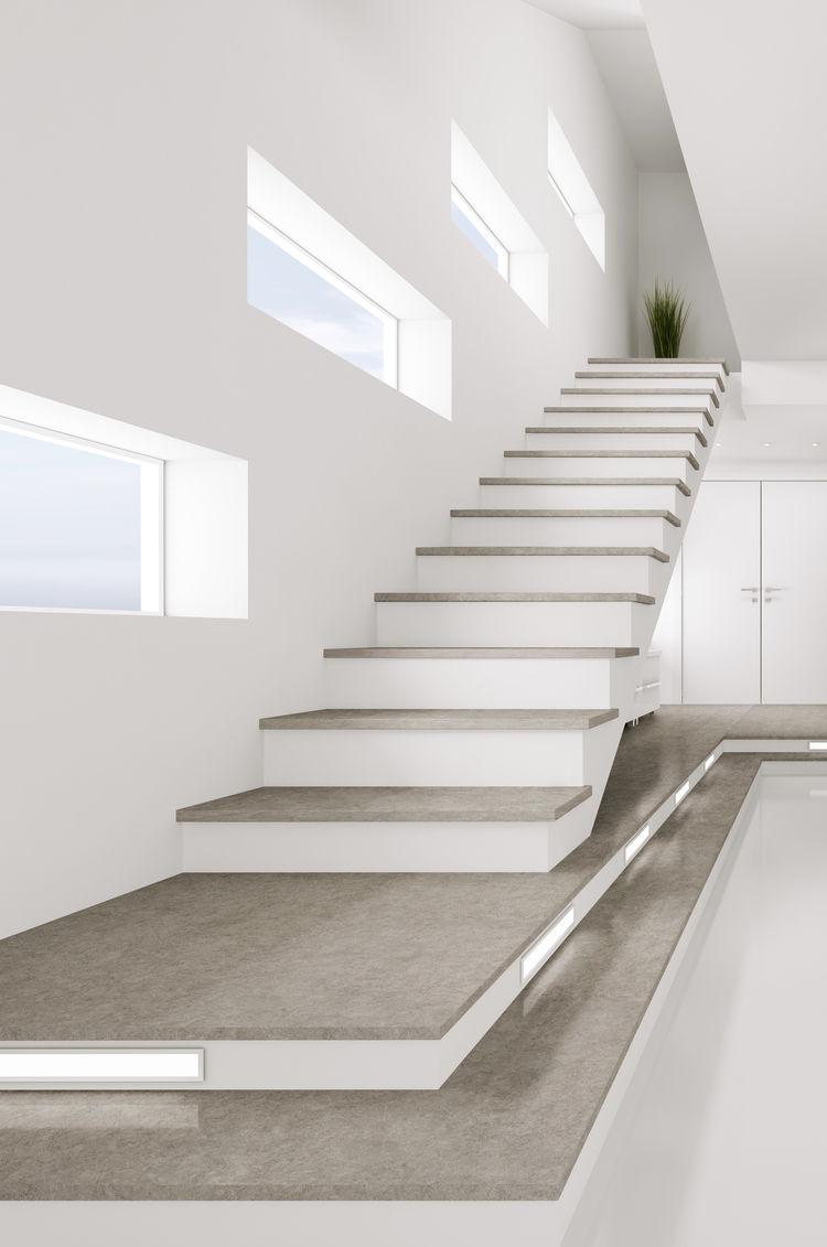 KBIS IBS TISE Cosentino Dekton stairs composite materials
