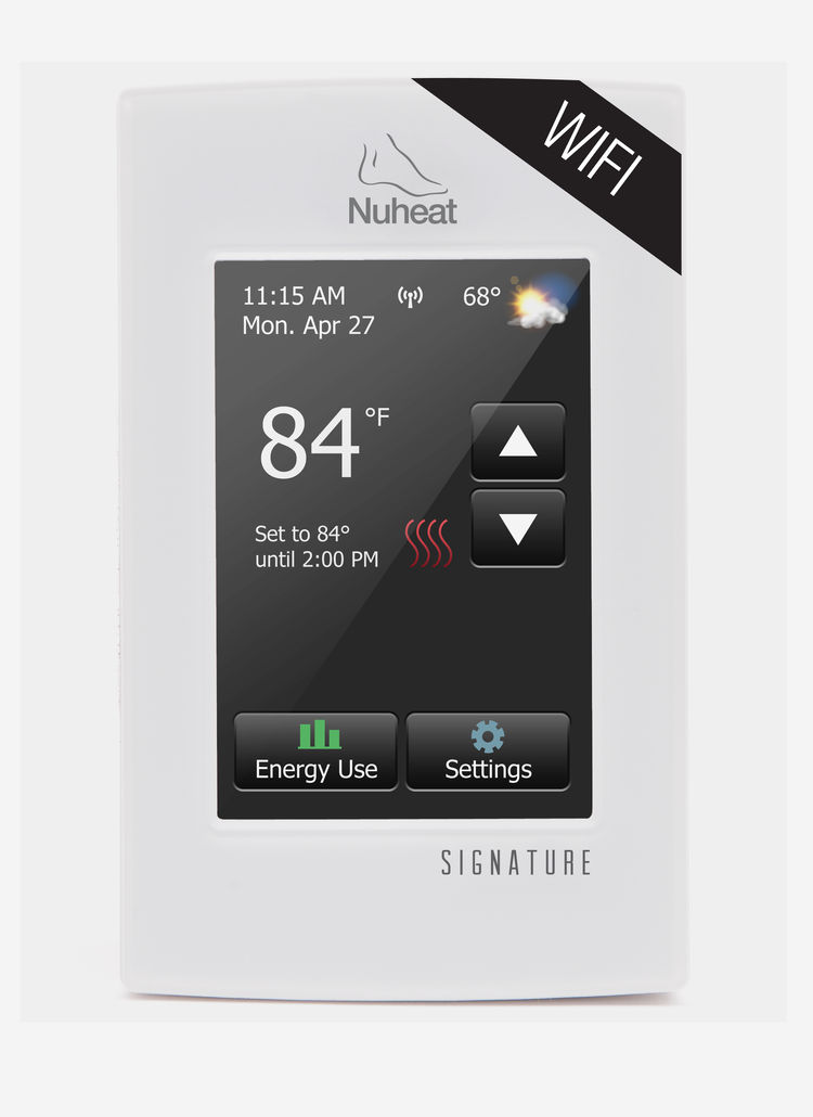 KBIS IBS TISE Nuheat wifi thermostat