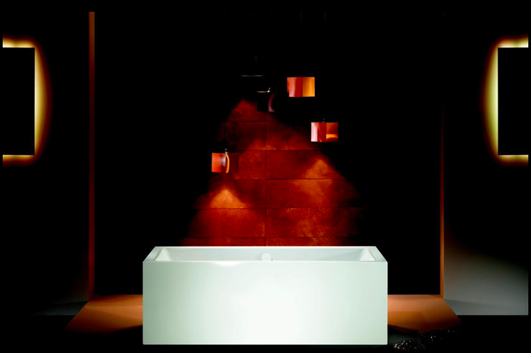 Meisterstücke Conoduo freestanding bath by Sottsass Associati for Kaldewei