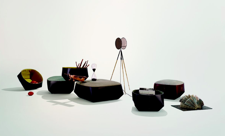 Isanka occasional pieces by EOOS for Walter Knoll