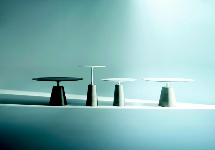 Rock table by Jean-Marie Massaud for MDF Italia