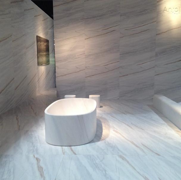 Designer Keiji Takeuchi's exhibition of Italian natural stone from Antolini