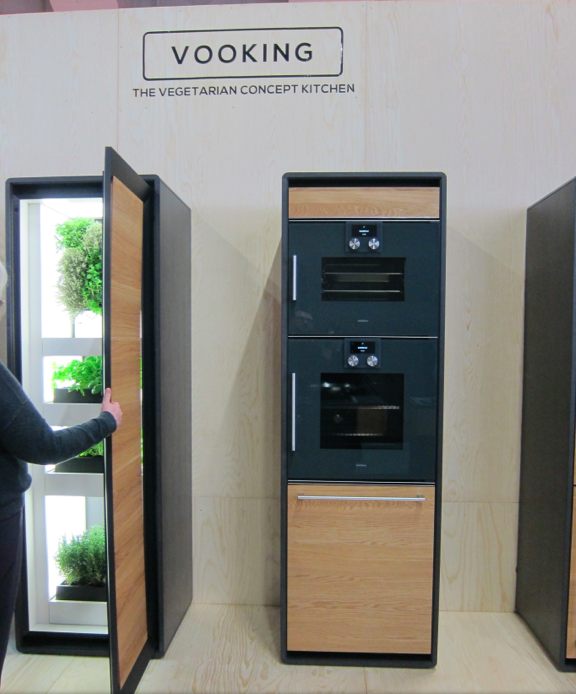 Vooking Concept Kitchen Farming and Oven Units