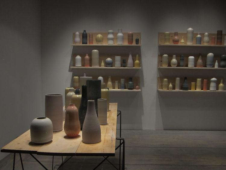 Eric Landon ceramics at Maison Objet 2015