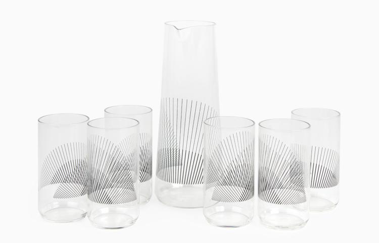 Liliana Ovalle glass carafe at Maison Objet 2015