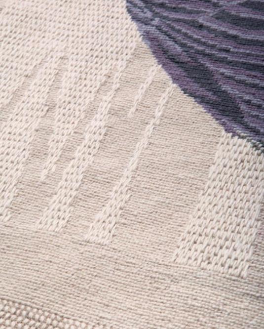 Needlepoint rug by FormaFantasma for Nodus
