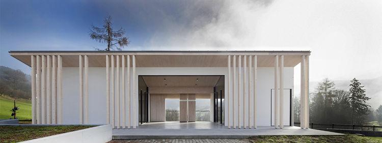 Tria Studio funeral chapel in Slovenia