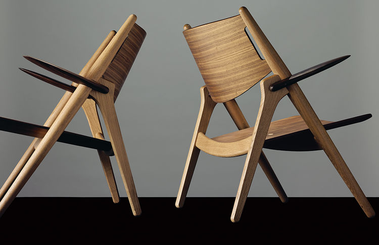 CH28 easy chair by Hans J. Wegner for Carl Hansen & Søn